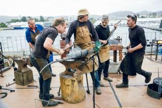 Blacksmiths & Nick Smithies - MONA FOMA Tasmania