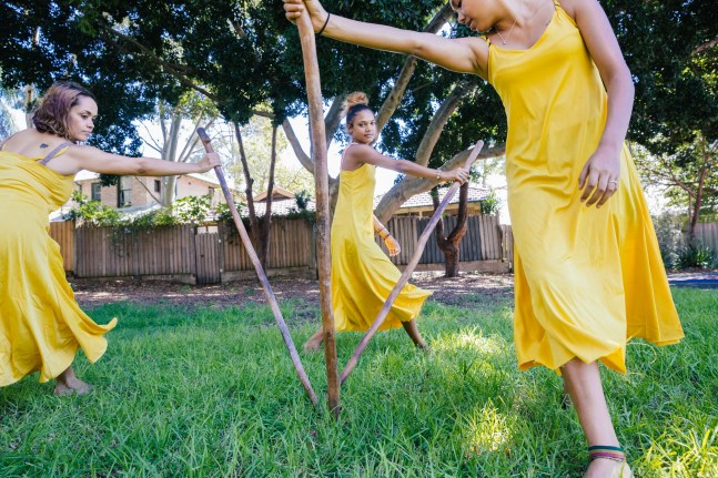 Boomerang concert rehearsal - Jannawi dance clan