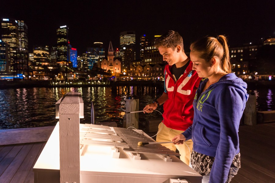 Vivid Sydney 2014 : Luminous Xylophone