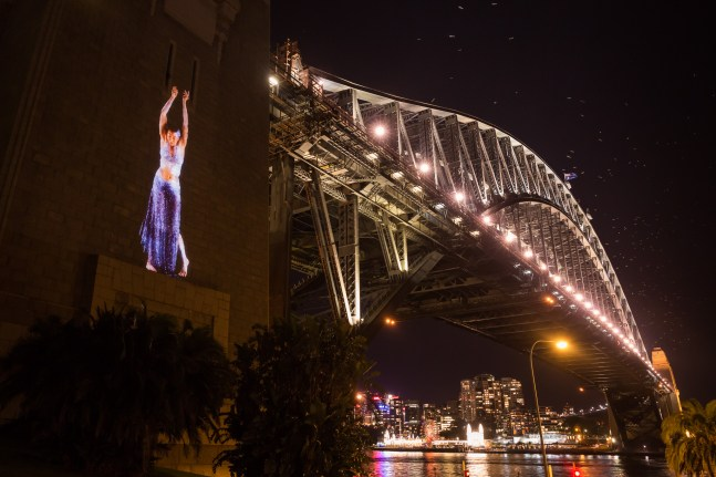 Vivid Sydney 2014 : The Spirit of Patyegarang