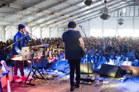 Brisbane Laneway Festival 2015 : Andy Bull RNA Showgrounds Brisbane