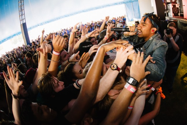 Brisbane Laneway Festival 2015 : Vic Mensa RNA Showgrounds Brisbane