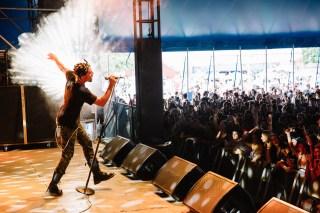 Brisbane Laneway Festival 2015 : Vic Mensa RNA Showgrounds Brisbane