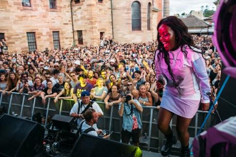 Sydney Laneway Festival : Tkay Maidza Rozelle