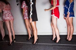 : Alice McCall MBFWA 2015 Backstage Carriageworks Sydney