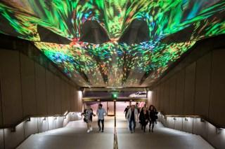 Vivid Sydney 2015 : Foyer Lights Sydney Opera House Sydney