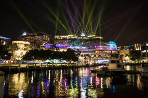 Vivid Sydney 2015 : Mission Control The Star Pyrmont