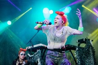 : Grimes - Laneway Festival Sydney 2016 Sydney College of the Arts Rozelle