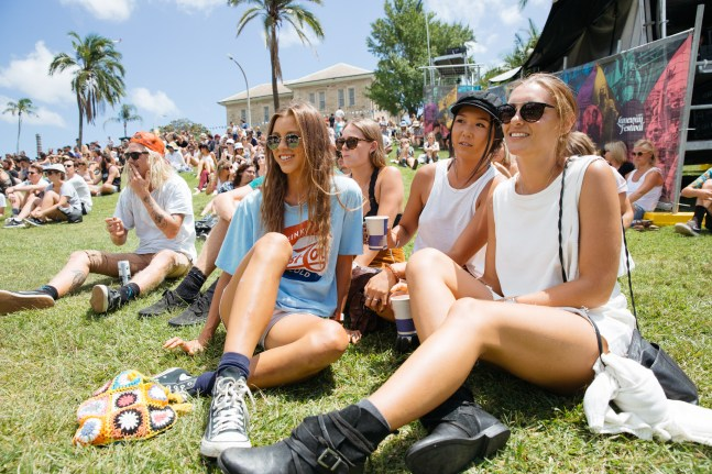 : Laneway Festival Sydney 2016 Sydney College of the Arts Rozelle