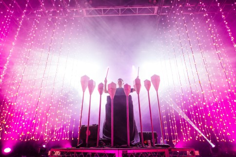 : Purity Ring - Laneway Festival Sydney 2016 Sydney College of the Arts Rozelle