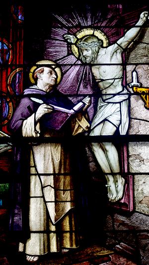 114 Saint Thomas Aquinas Stained Glass