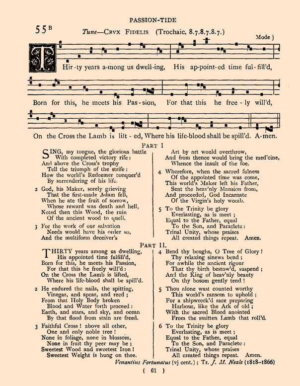 125 English Hymnody
