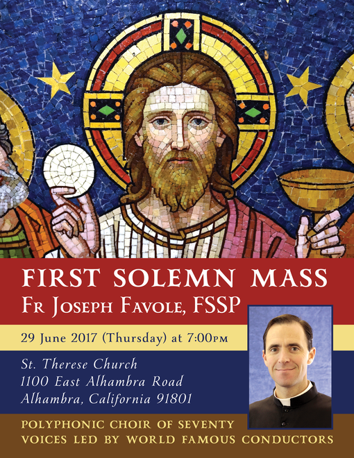 148 Fr. Joseph Favole FSSP