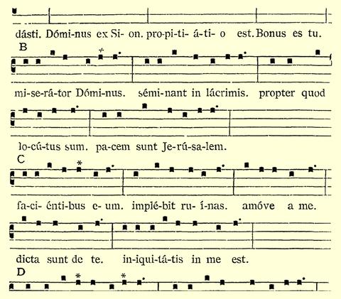 157  The Eight Gregorian Psalm Tones