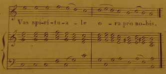 1840's (?) Gregorian Accompaniment