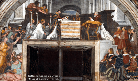 "200 Raphael ""The Mass at Bolsena"""