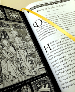 231 St. Isaac Jogues Illuminated Missal, Lectionary, & Gradual