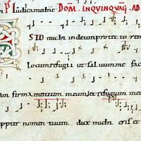 306 Esto Mihi Introit Manuscript