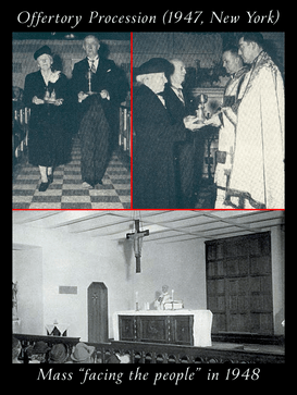 384 Offertory Procession 1940s