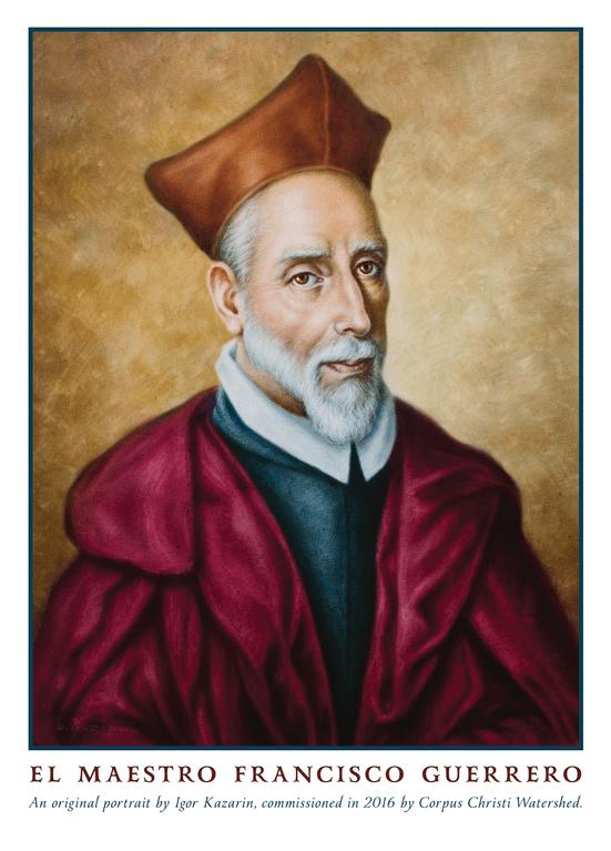 4001 Francisco Guerrero (composer) died 1599AD