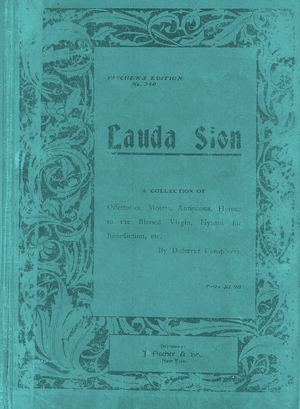 4411 LAUDA SION HYMNAL