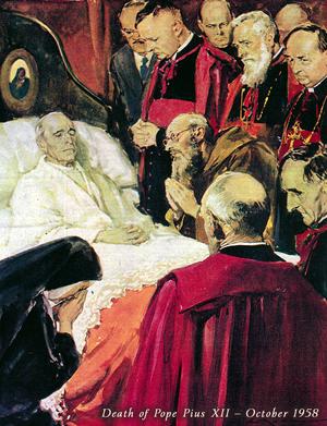 503 Death Pius XII