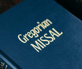 597 Gregorian Missal