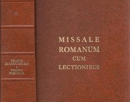 601 Missale Romanum cum lectionibus ad usum fidelium