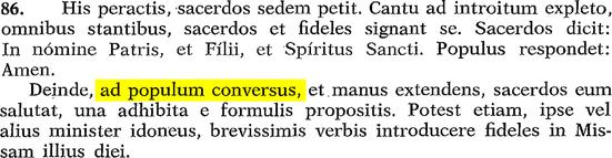 620 ad populum conversus