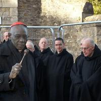 6782 Cardinal Sarah Visits Solesmes Monks D