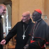 6782 Cardinal Sarah Visits Solesmes Monks H