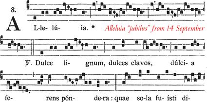 689 Laudes crucis attollamus JUBILUS
