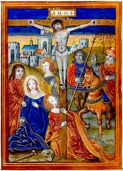 84452 Crucifix MANUSCRIPT