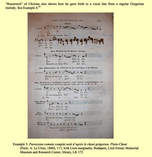 84559 Franz Liszt Gregorian Chant MSS