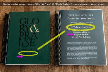 84823 comparison-Brebeuf-Hymnal-Organ-Accompaniments