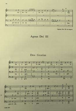 """897 Verdelot Polyphony """"Deo Gratias"""""""