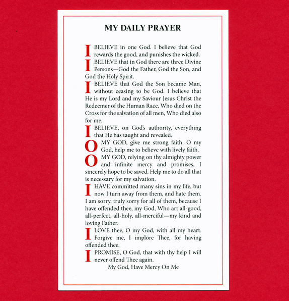 915 Daily Prayer