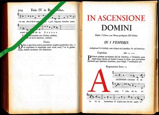 961 Antiphonale Monasticum