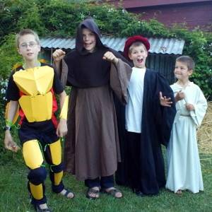 All saints day costumes