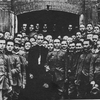 Archbishop Pacelli with POWs