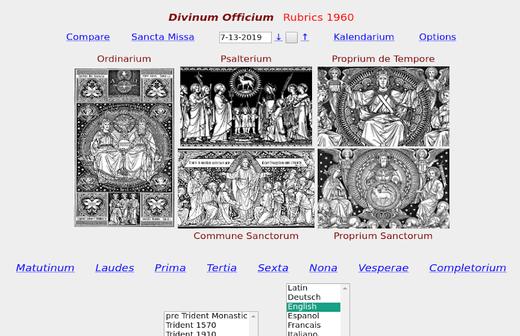 Divinum Officium Screenshot