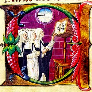 Nuns Singing Square