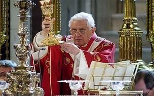 LMT Pope Benedict at Westminster Cathedral