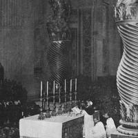 Pope Pius XII saying Mass