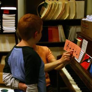 student teacher piano