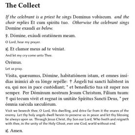 Compline Collect