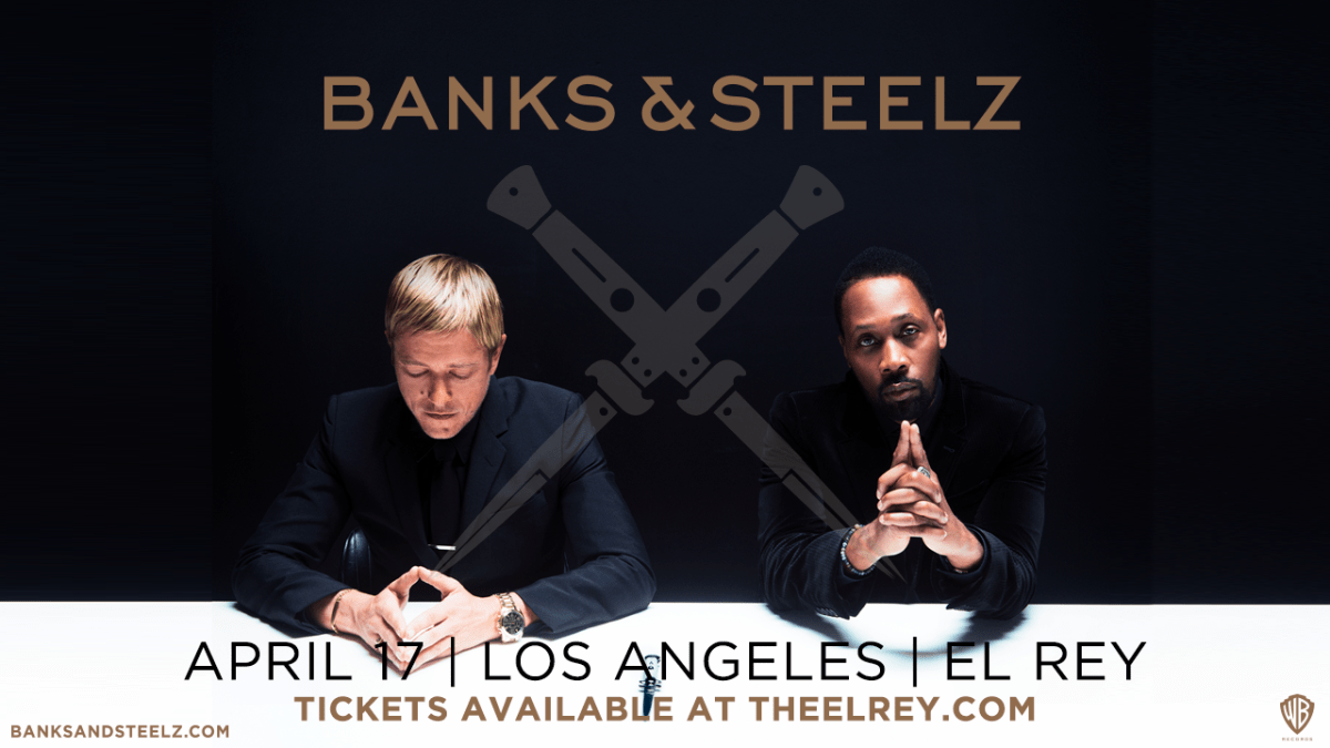 banks and steelz at the el rey theatre