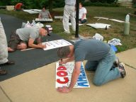 Making signs