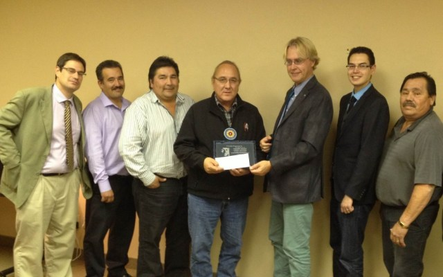 Fisher River Recieves Award for Best Governed Manitoba First Nation