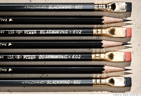 One man's quest to revive the Blackwing pencil touches off a storm of controversy.